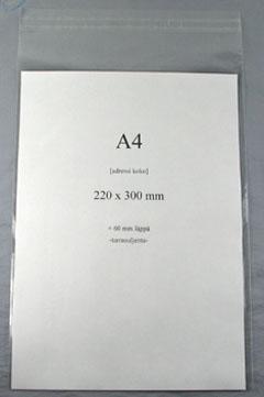 PP self-adhesive bags | A4 mega card