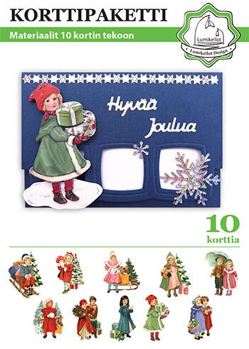 joululapsetkorttipaketti