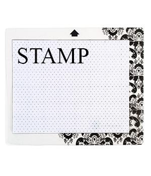 silhouette cameo portrait stamping leimasimet