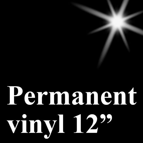 pervinyl12_musta ORACAL® 551 - High Performance Cal PERMANENT-vinyyli