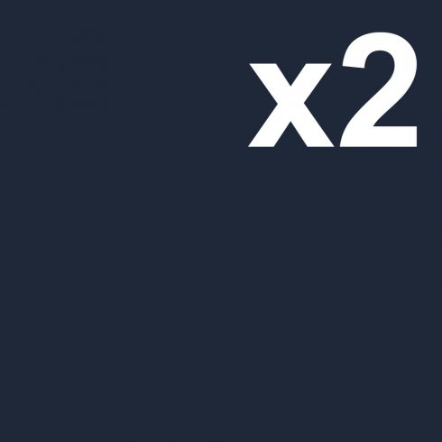 Cardstock 2 sheets 30x30cm, navy blue