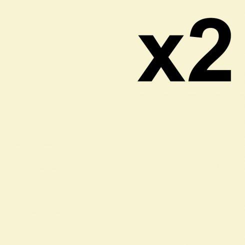 Cardstock 2 sheets 30x30cm, beige