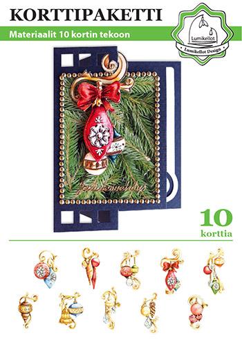 joulukorttipaketti korttipaketti