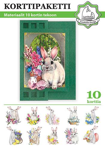 pääsiäiskorttipaketti