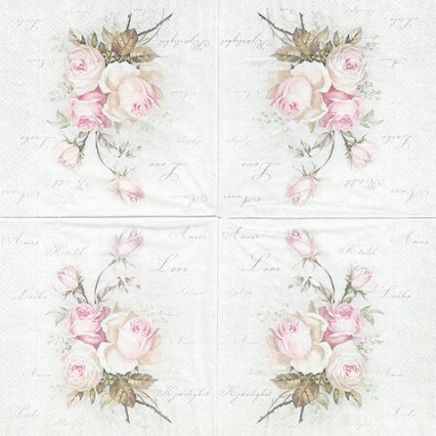 lautasliina ruusu