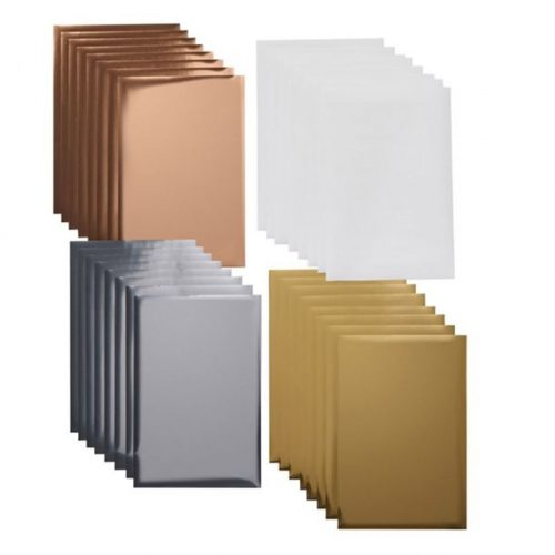 cricut foil transfer sheets metallic sampler 10x15 1 1
