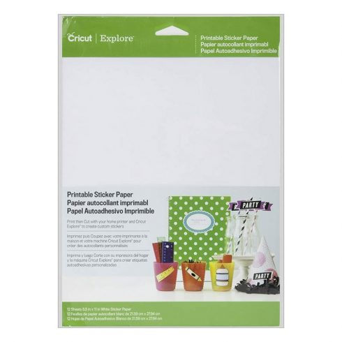 Cricut Printable Sticker Paper