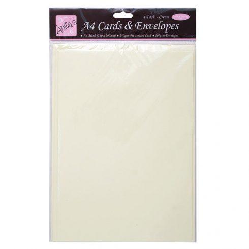 a4 cards envelopes